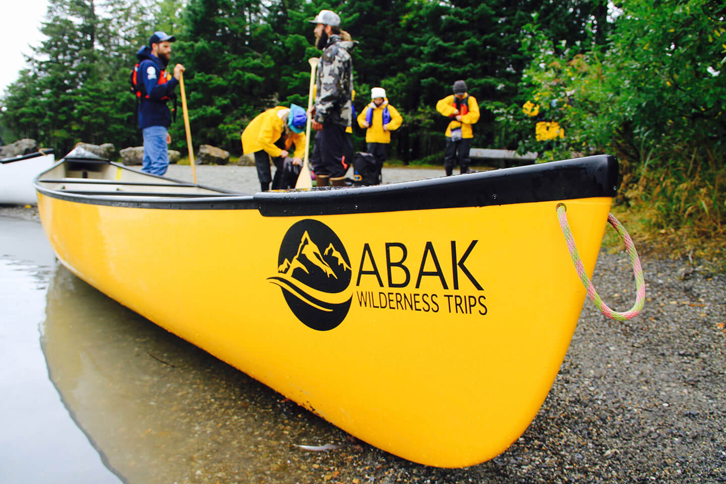 Above & Beyond Alaska canoe
