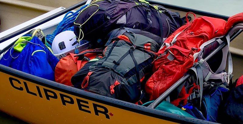 Conoe gear packed