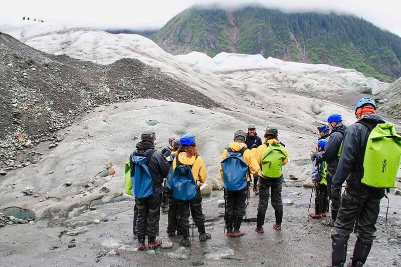 Mendenhall Glacier hiking 12