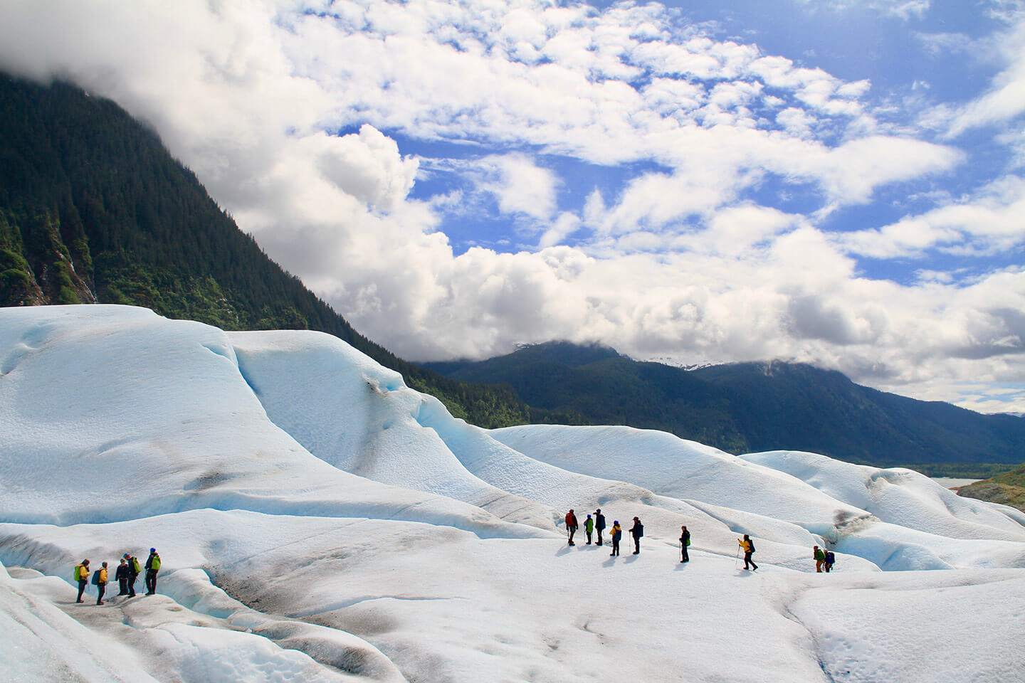Mendenhall Glacier hiking 31