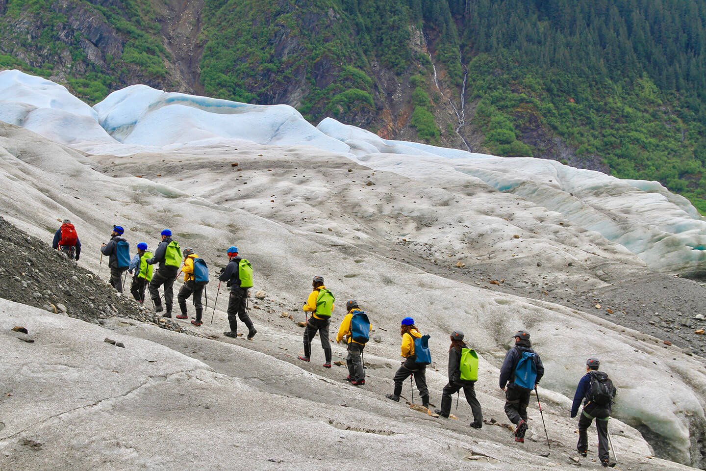 Mendenhall Glacier hiking 34