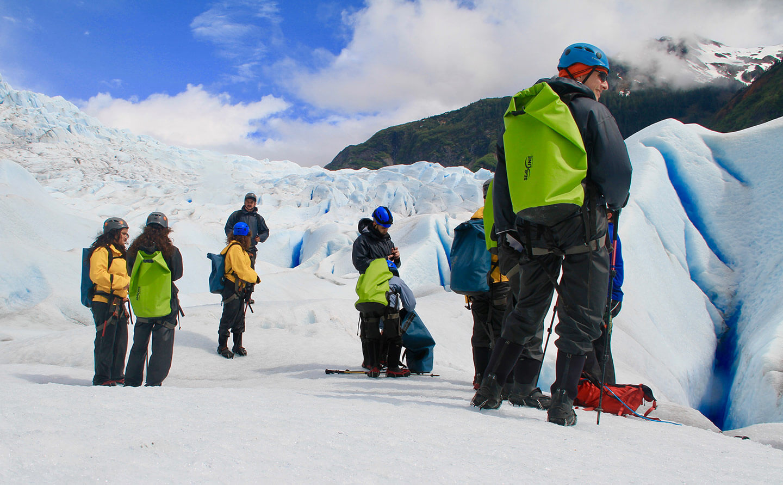 Mendenhall Glacier hiking - 46