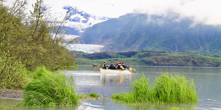 Mendenhall Glacier paddle 10