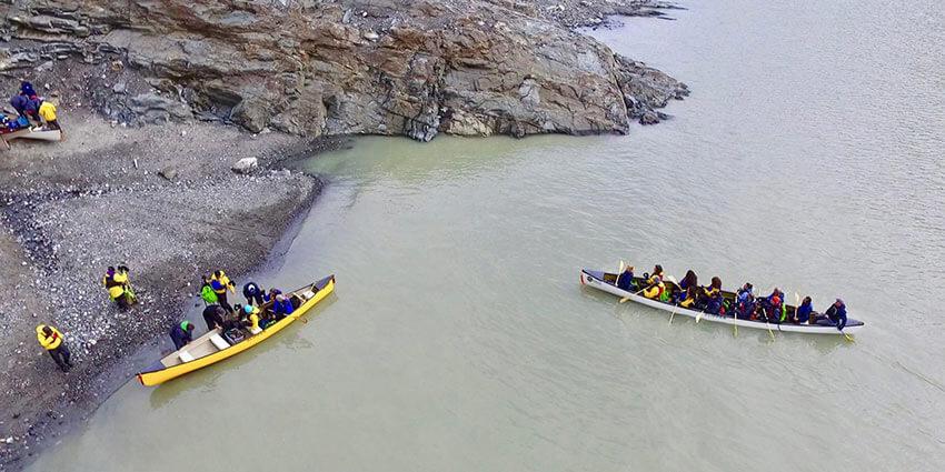 Mendenhall Glacier paddle 5
