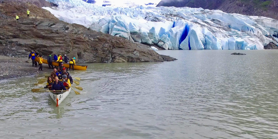 Mendenhall Glacier paddle 9