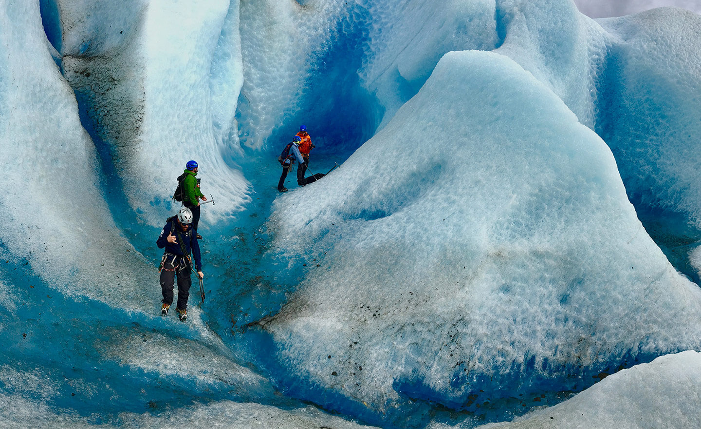 Mendenhall Glacier hiking - drone