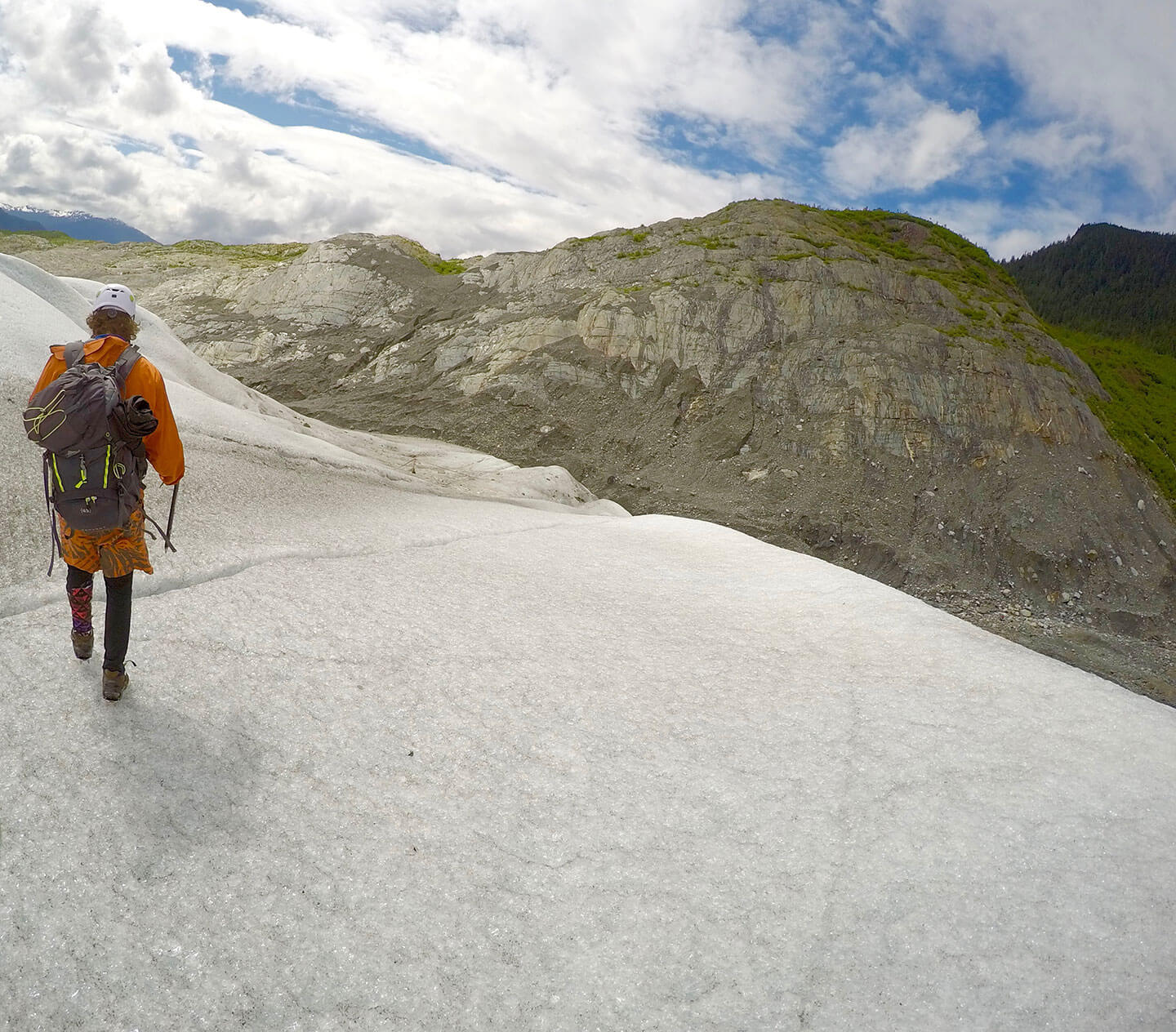 Jacob on Mendenhall Glacier