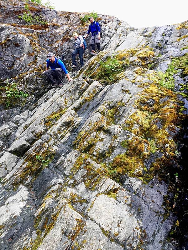 Mendenhall Glacier trek 5
