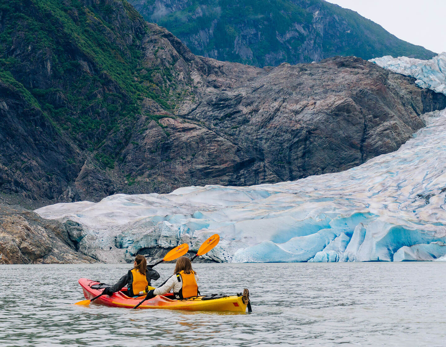 Private Glacier Kayak Paddle & Trek - Above & Beyond Alaska