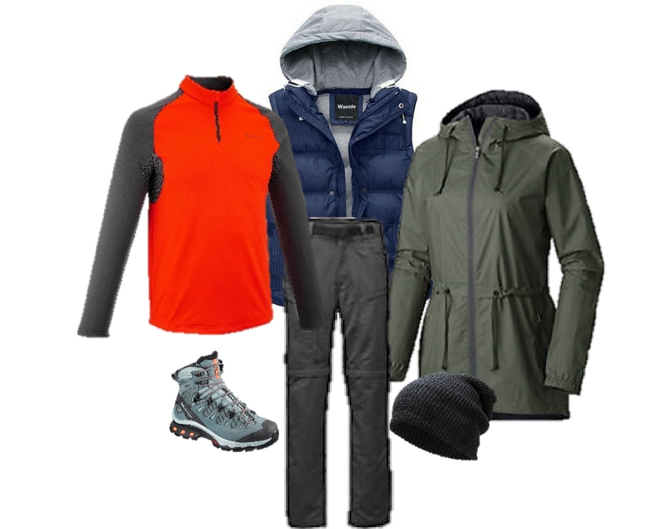 What to wear for Alaska hiking